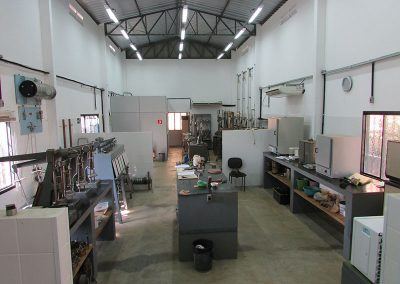 laboratório de solos
