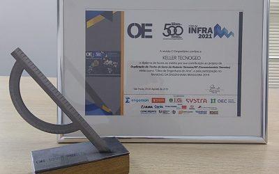 Destaque da Keller Tecnogeo no Ranking Engenharia Brasileira – 500 Grandes da Construção e nas Obras de Engenharia do Ano