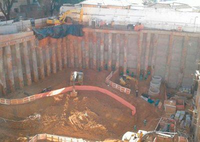 estaca escavada de grande diâmetro